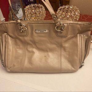 Coach Gallery leather shoulder bag